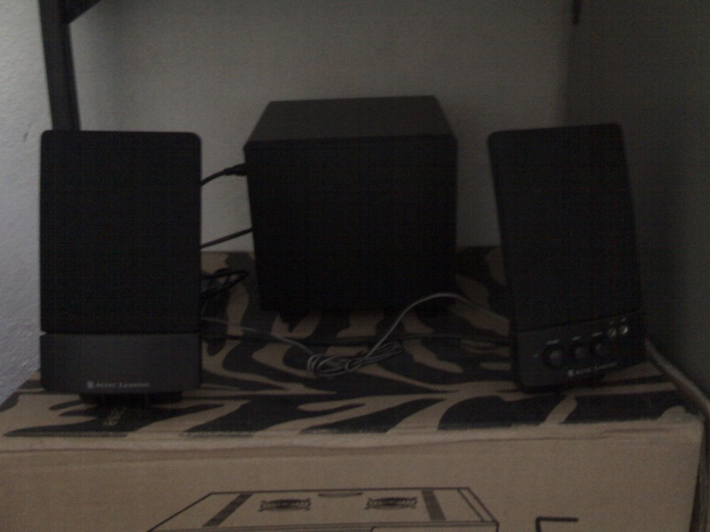 Altec Lancing 2.1 Speakers