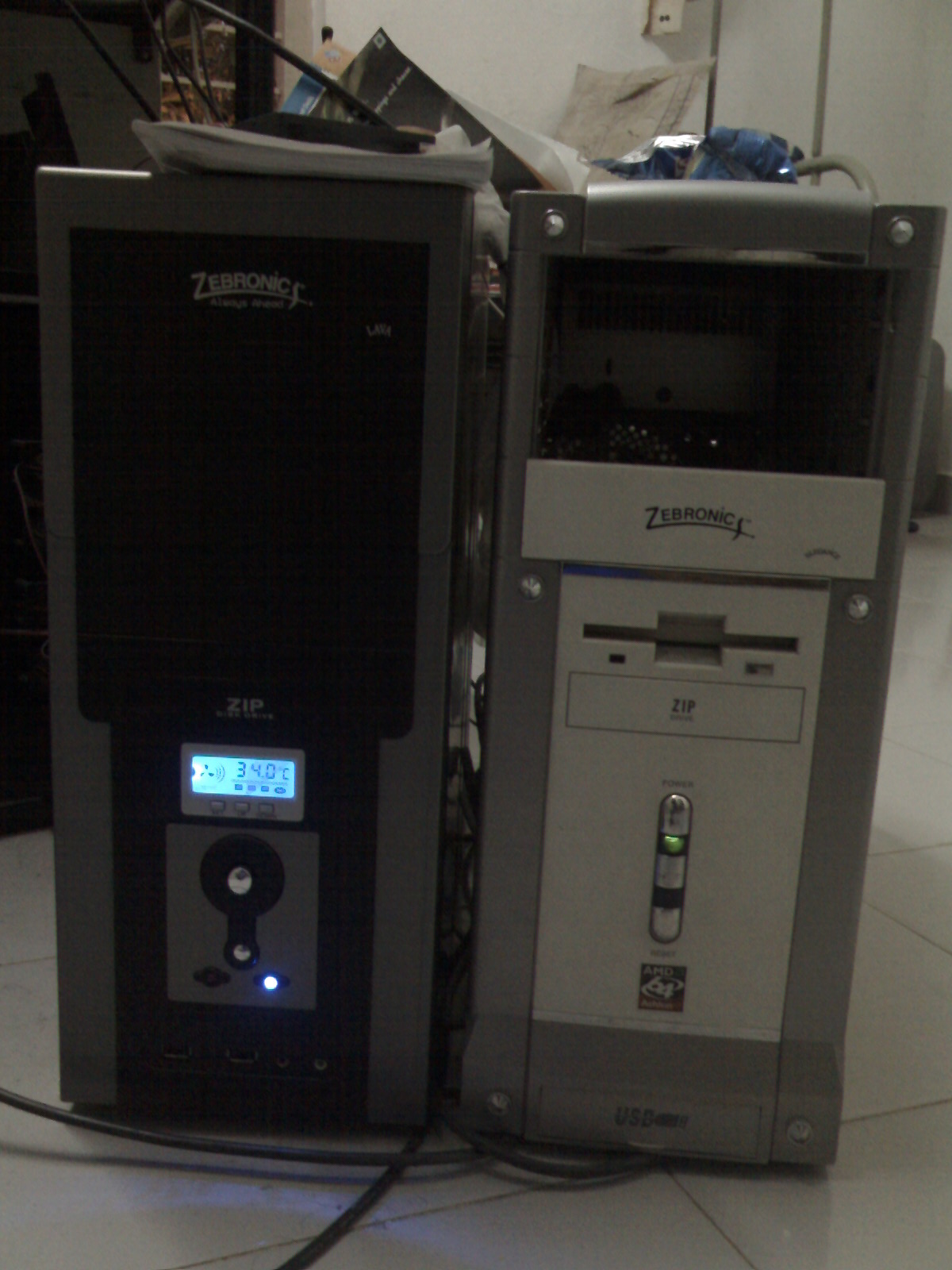 Processors Cabinets Front