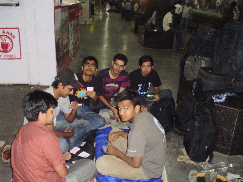 We at Kachiguda Station
