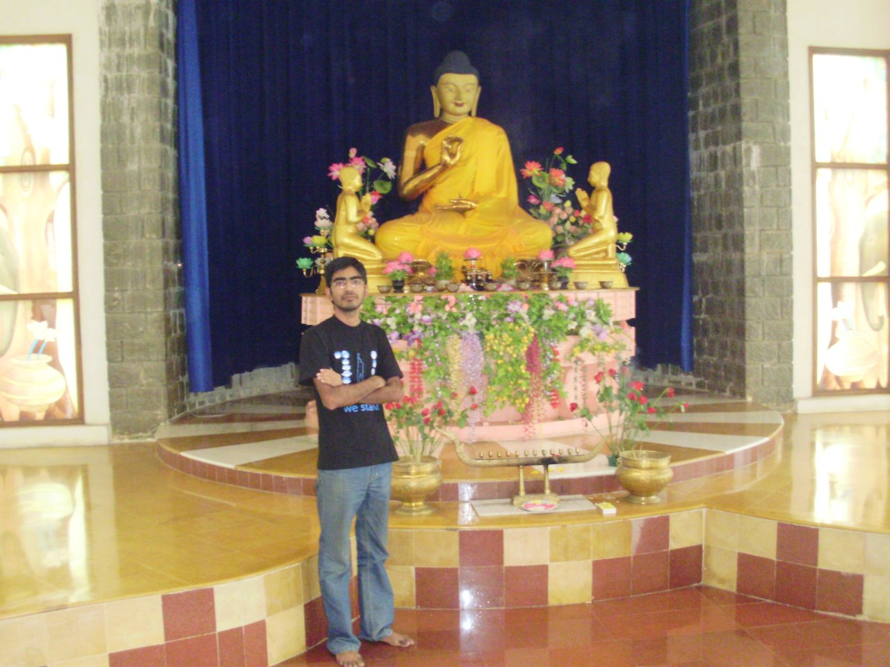 Me inside the temple