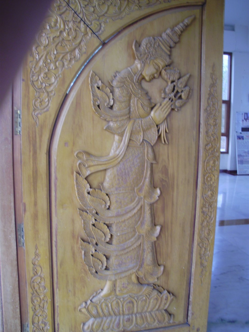 Woodwork on Doors