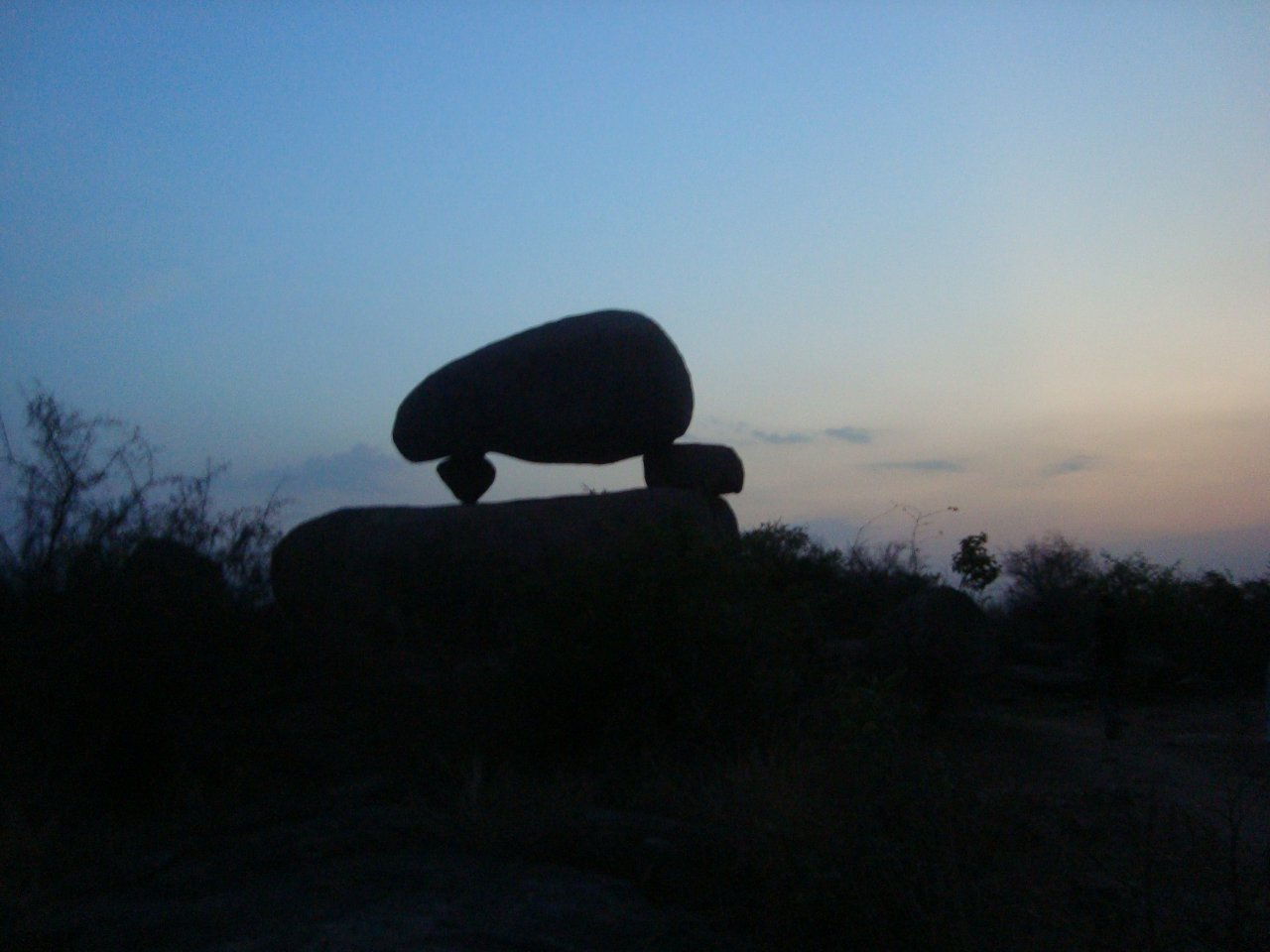 Mushroom or Santro Rock